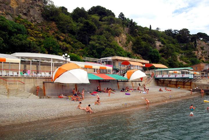 отдых на ЮБК.Пляжи Крыма